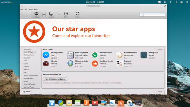 elementary os 0.3.2 screenshot 2