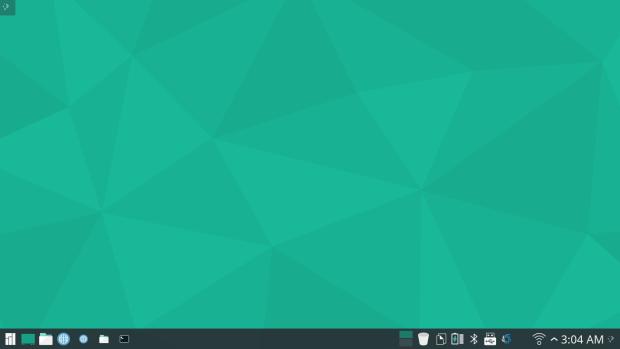 manjaro 15.12 KDE screenshot 1