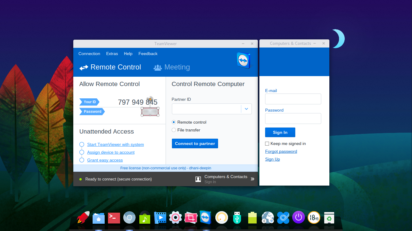 install teamviewer on manjaro 15.12.png