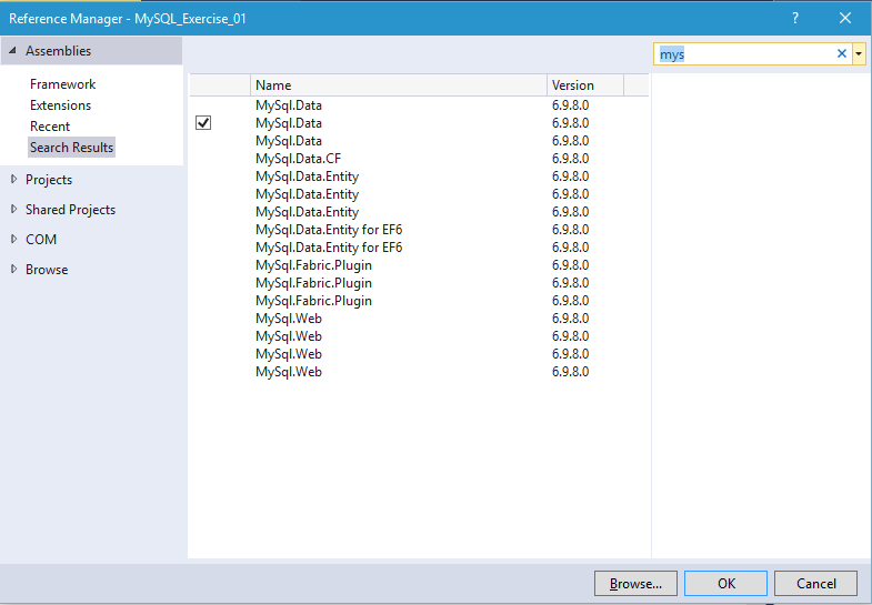 how to connect database to visual basic