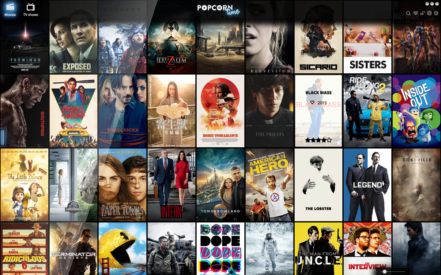 Download and install Popcorn Time 5.4 for MacOS X - Tutorial and Full Version Software