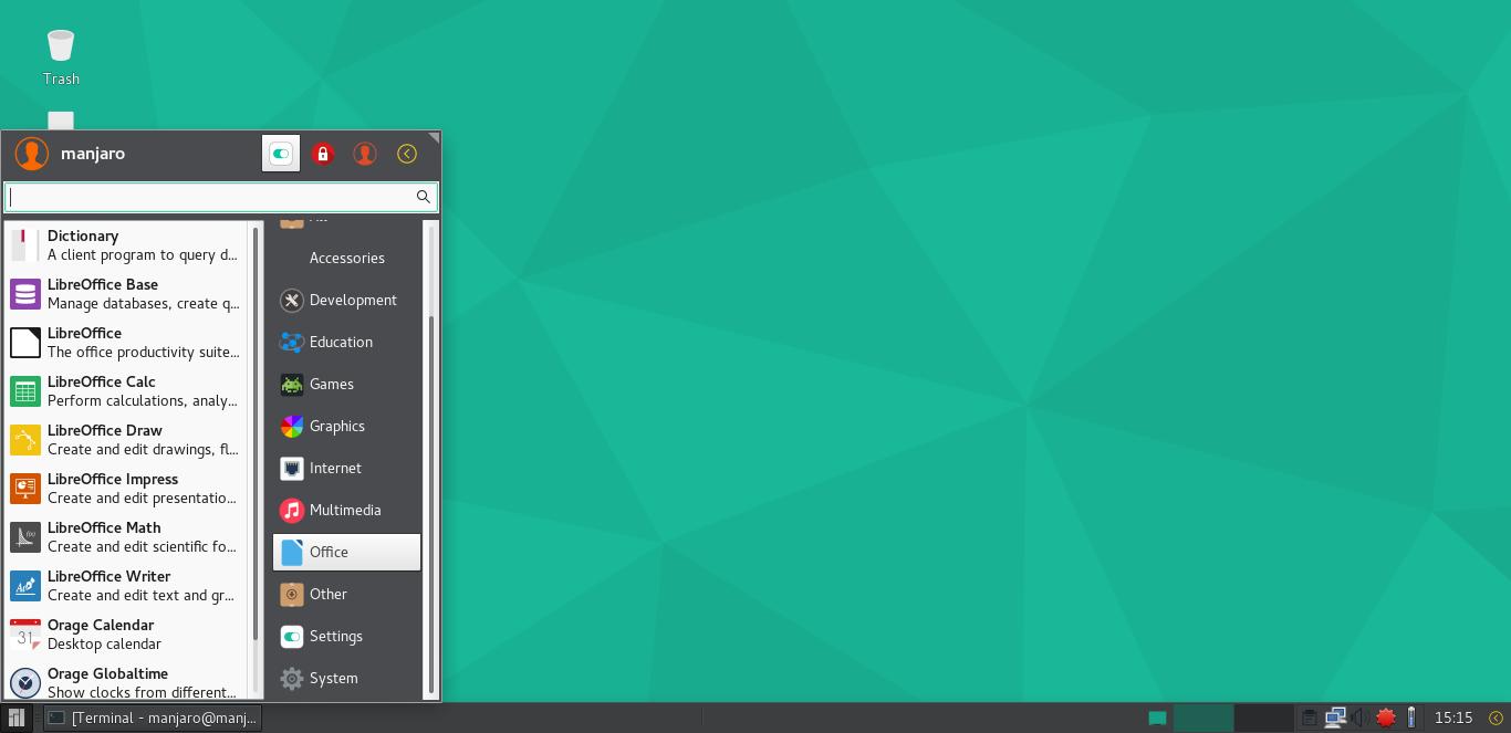 Manjaro 16.06 screenshots 2.png
