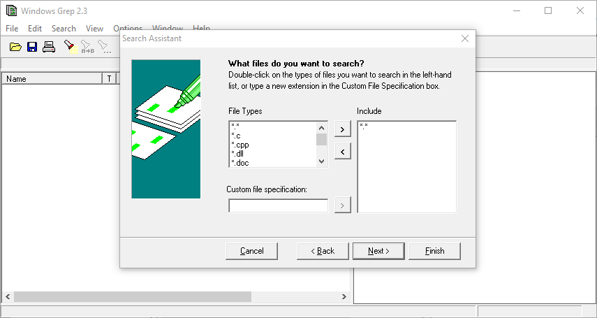 how to search text on windows 2