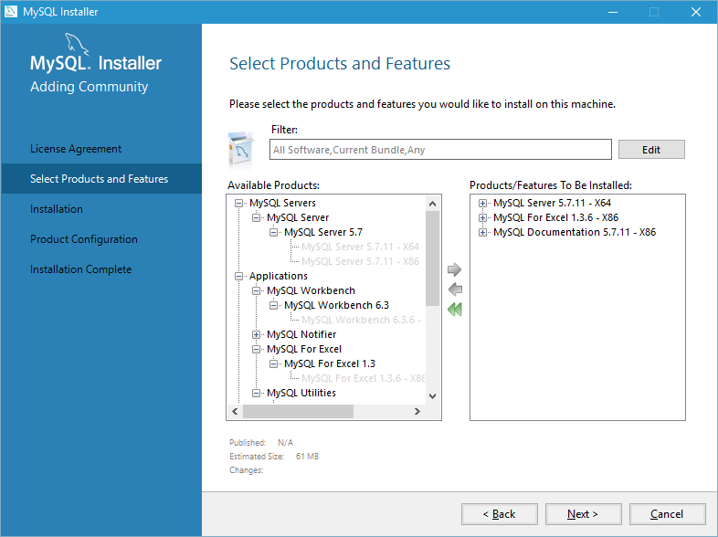 install mysql on windows 10 step 2