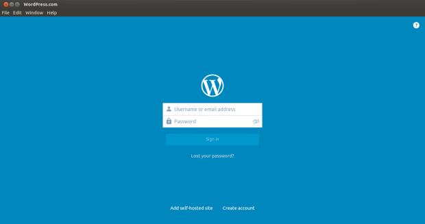 wordpress.com on ubuntu