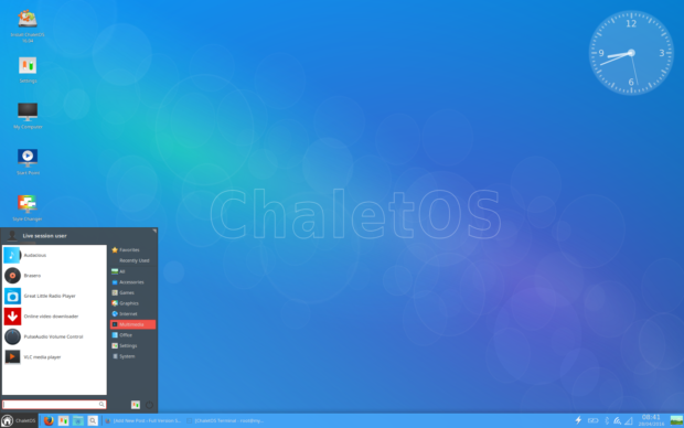 chaletos 16.04 screenshot 2