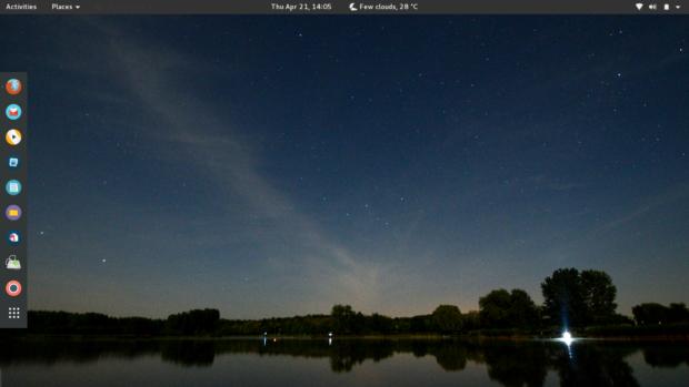 korora screenshot 1