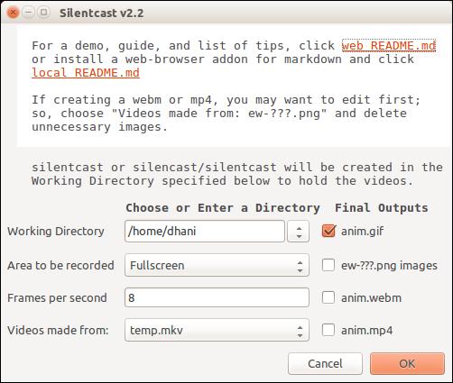 silentcast ubuntu 1