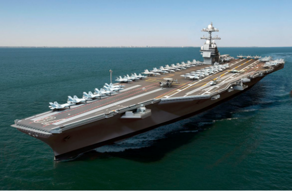 uss gerald r ford 1