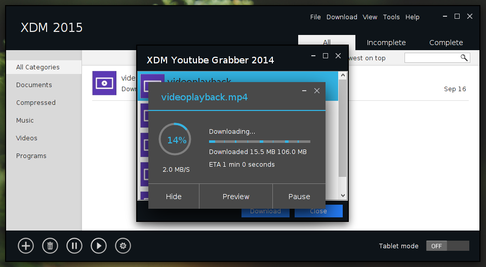 xtreme download manager on loki 2.png