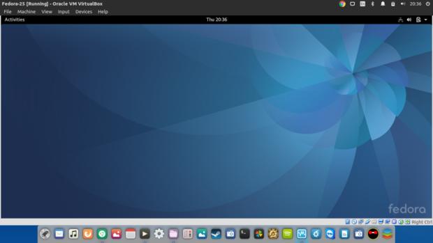 fedora-25-on-ubuntu-16-04