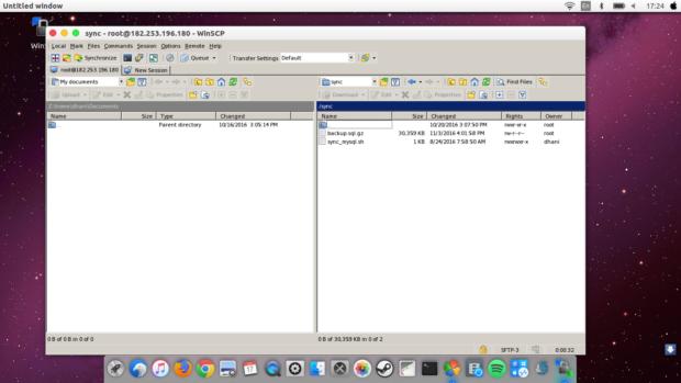 how to install winscp on ubuntu