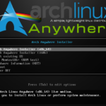 Step by step installing Arch Linux 2016 using Arch Anywhere