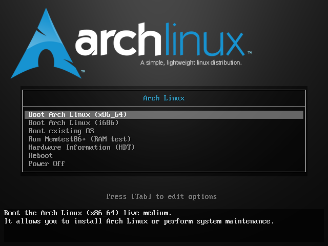tutorial install arch linux 2016 step 1.png