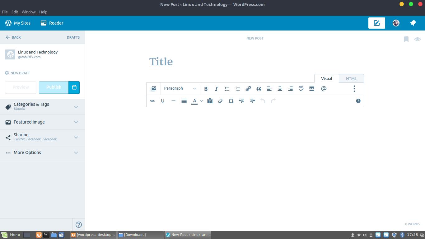 wordpress app linux mint.png
