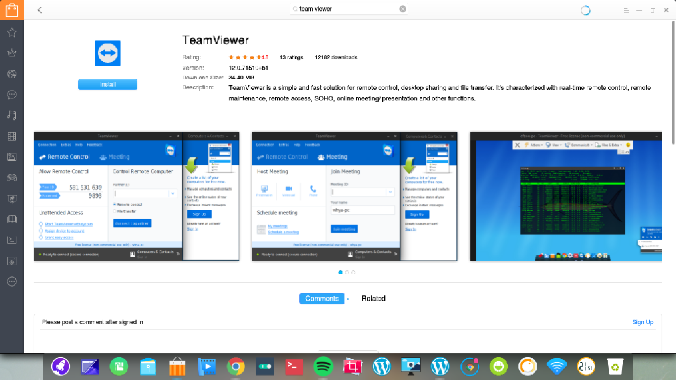team viewer on deepin 15.4.png