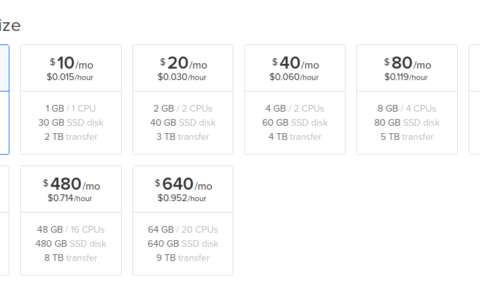 Create a low cost Private Cloud Server on DigitalOcean as low as $5 per month