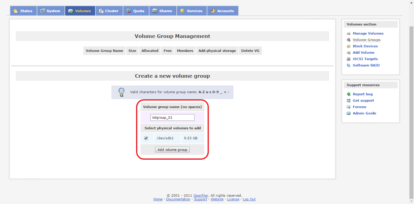 create volume group on openfiler 1.png