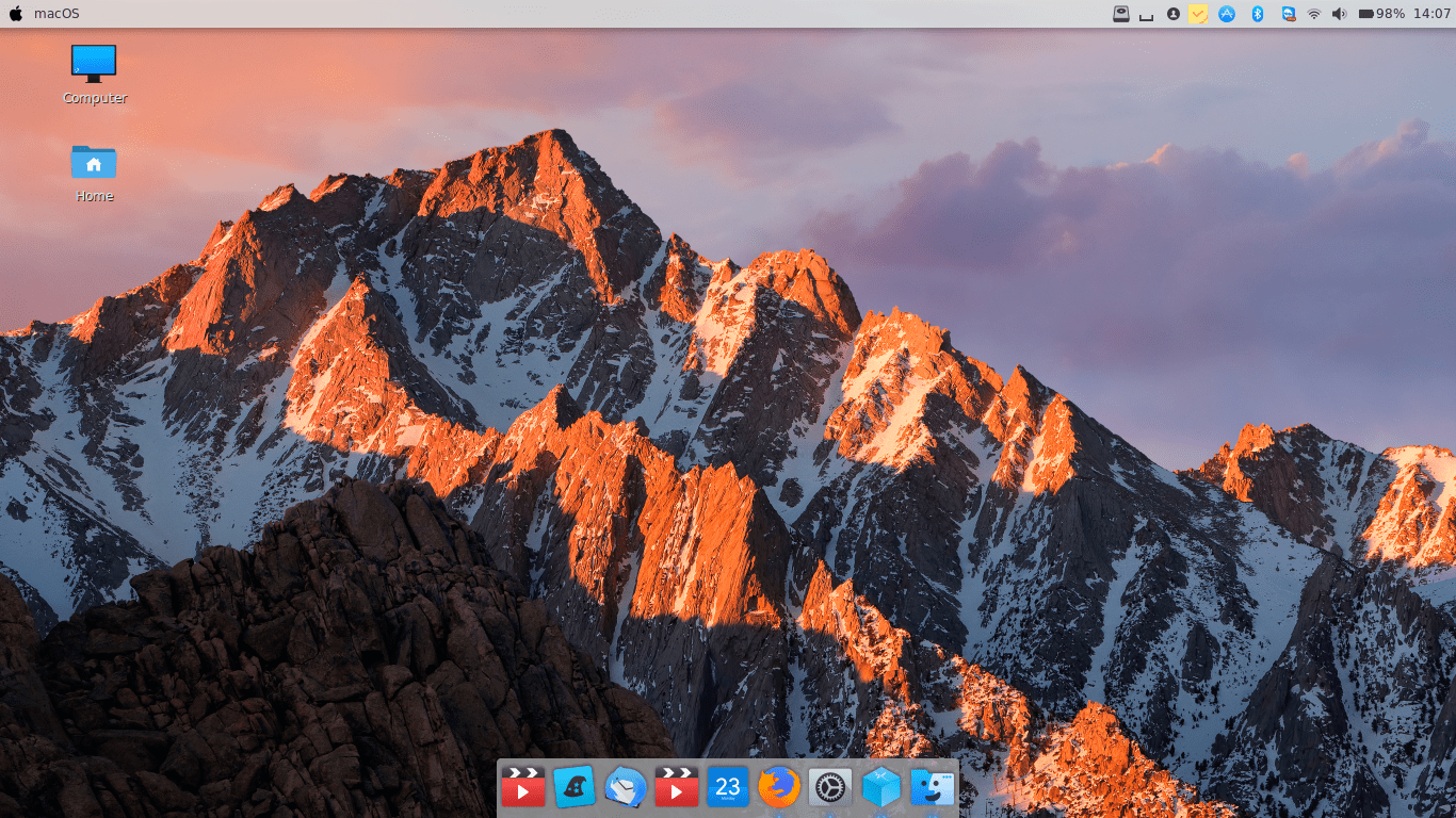 how to make your computer look lik mac os sierra